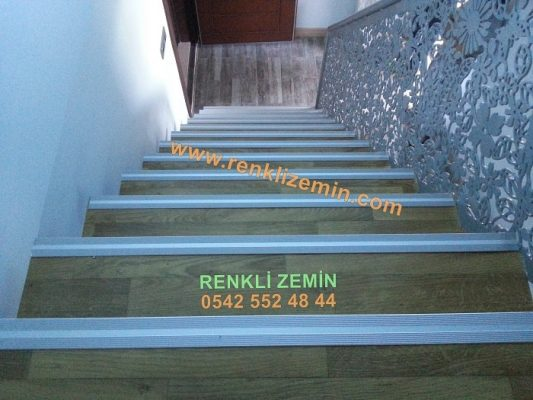 Ahşap Görünümlü Pvc Merdiven Kaplaması