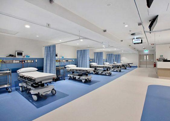 hastane yer kaplama malzemeleri