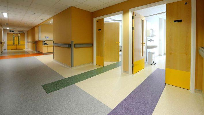 hastanelerde kullanılan yer döşemeleri