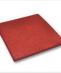 Kırmızı Kauçuk Zemin Kaplama 2cm 40×40