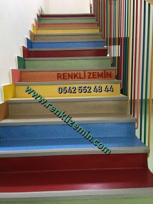 kreş merdiven kaplaması