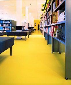 Sarı renkli PVC Zemin Kaplama