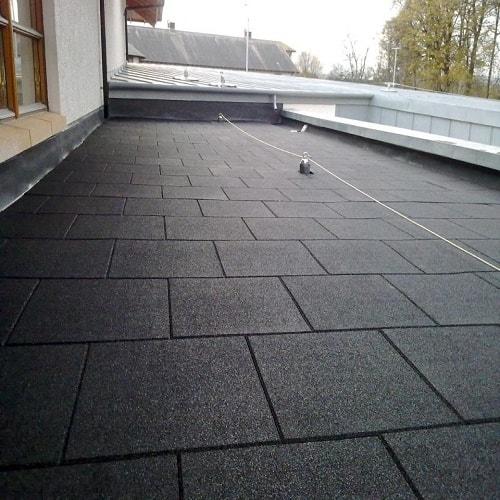 Siyah Kauçuk Zemin Kaplama 2cm 40×40