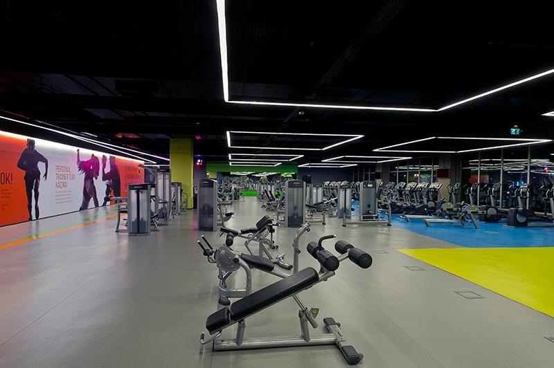 spor salonu yer-döşemesi