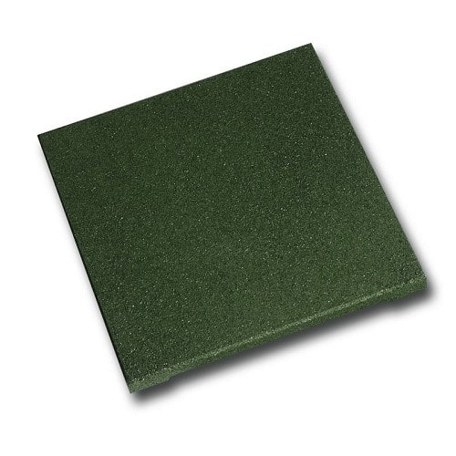 Yeşil Kauçuk Zemin Kaplama 2cm 40×40